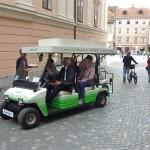 U pješačkoj zoni možete zaustaviti električno vozilo da vas prebaci kud želite